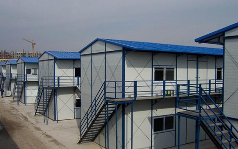 浅说:【钢架结构】三达建材彩钢板房