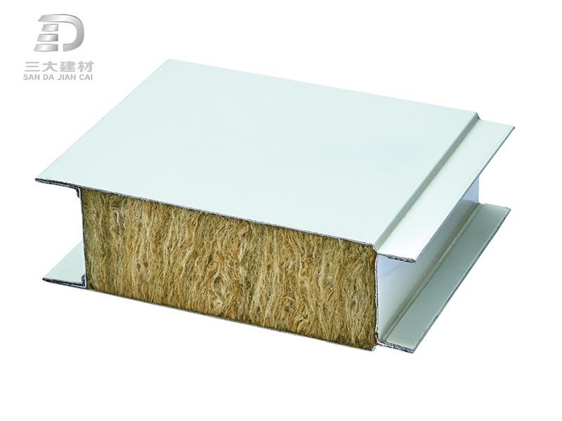净化板系列-岩棉夹芯板-彩钢夹芯板