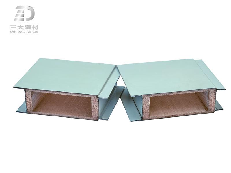 玻镁夹芯板、玻璃棉夹芯板、聚氨酯夹芯板的特性和应用