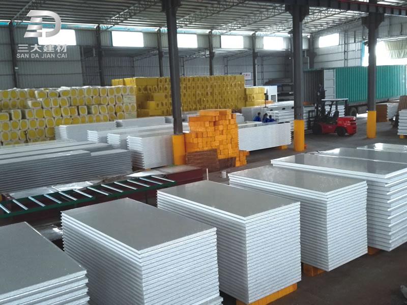 净化板系列-EPS泡沫墙板-彩钢夹芯板