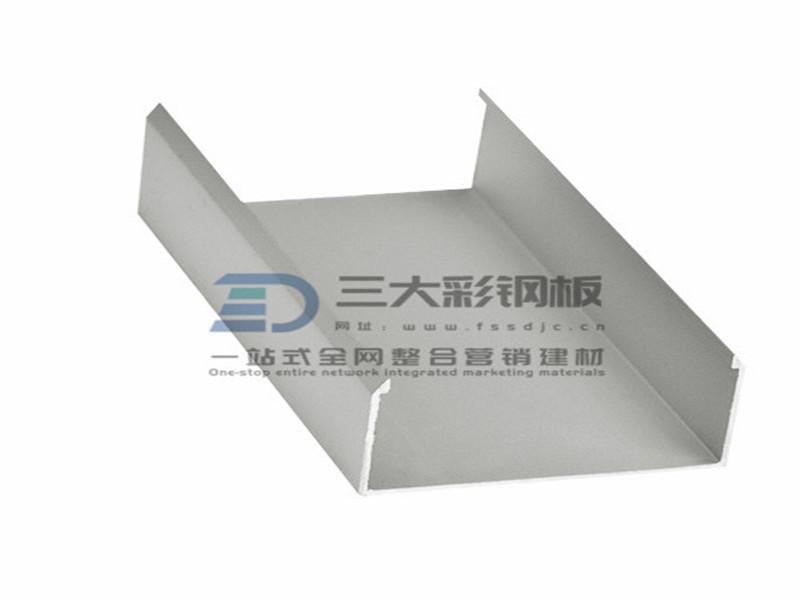 净化铝材-50槽铝-彩钢夹芯板安装配件