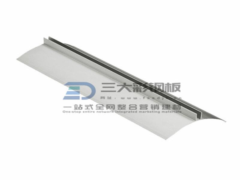 净化铝材-内圆弧铝件-彩钢夹芯板安装配件