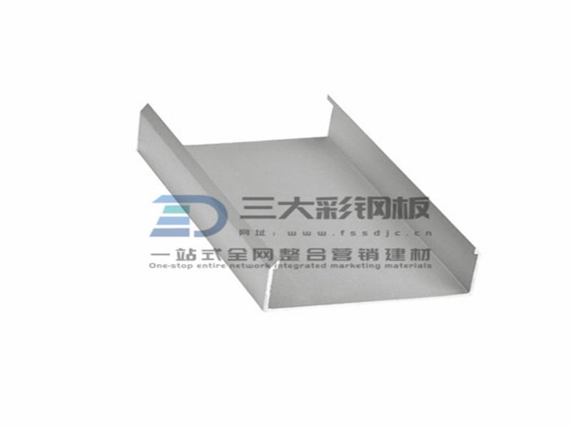 净化铝材-100槽铝铝件-彩钢夹芯板安装配件