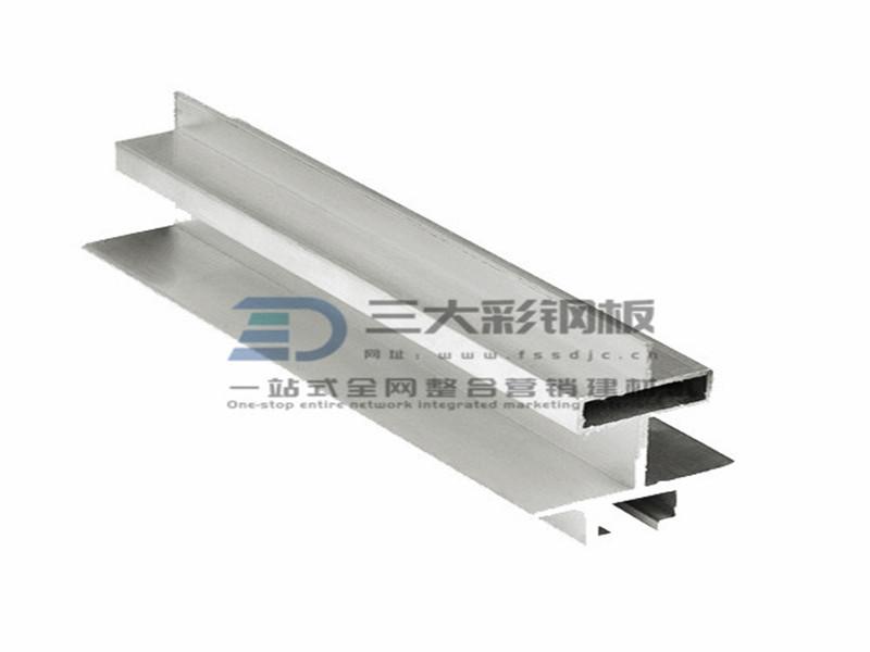 净化铝材-中字铝吊梁铝件-彩钢夹芯板安装配件