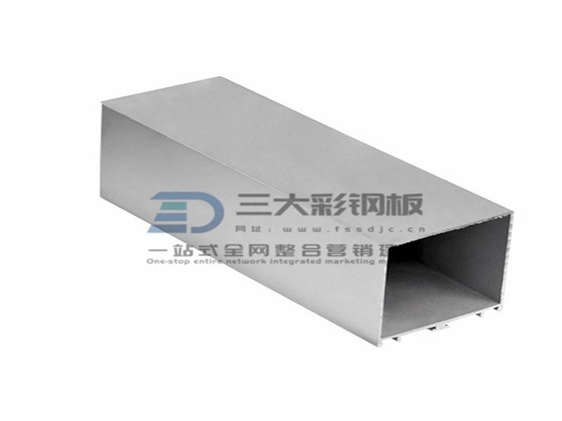 净化铝材-单面压线中栓铝件-彩钢夹芯板安装配件