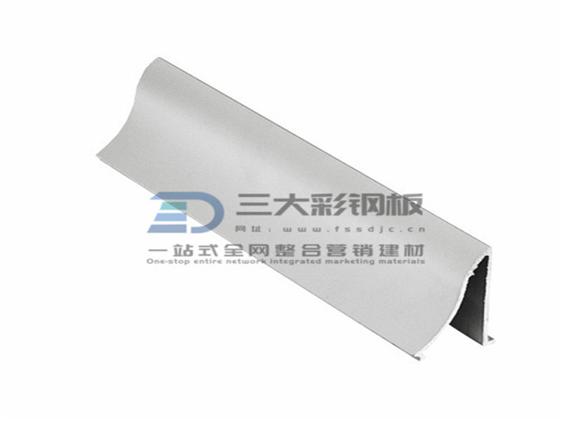 净化铝材-固定窗斜压线铝件-彩钢夹芯板安装配件