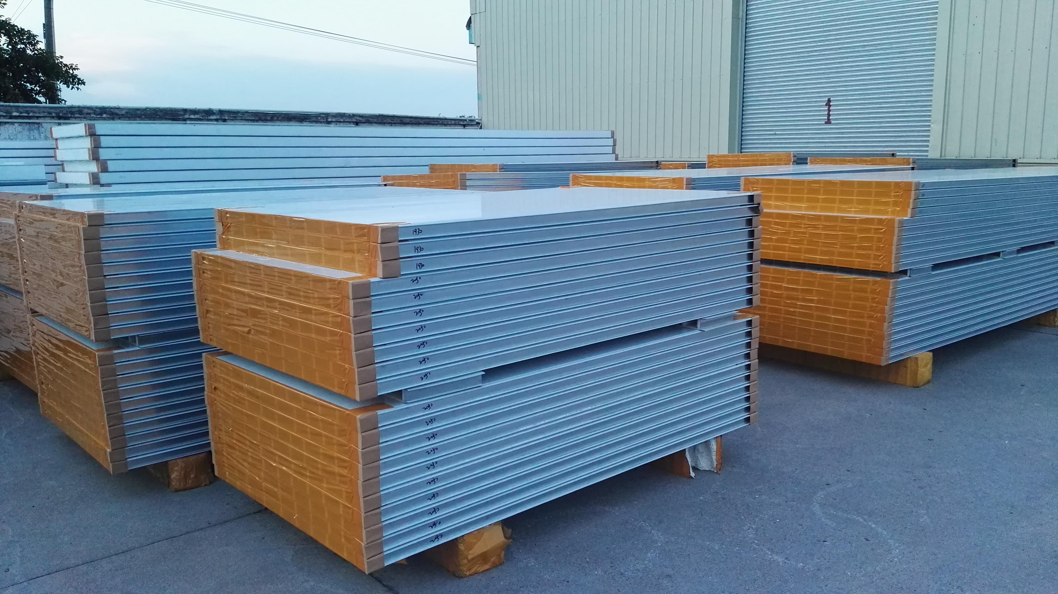 净化板系例-玻镁夹芯板-彩钢夹芯板材