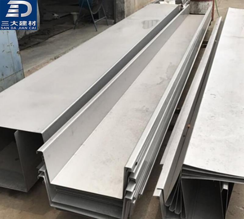 不锈钢天沟怎么焊接和组装?折弯需要注意什么?